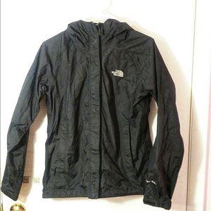 North Face HyVent 2.5 liter rain coat Sz S black